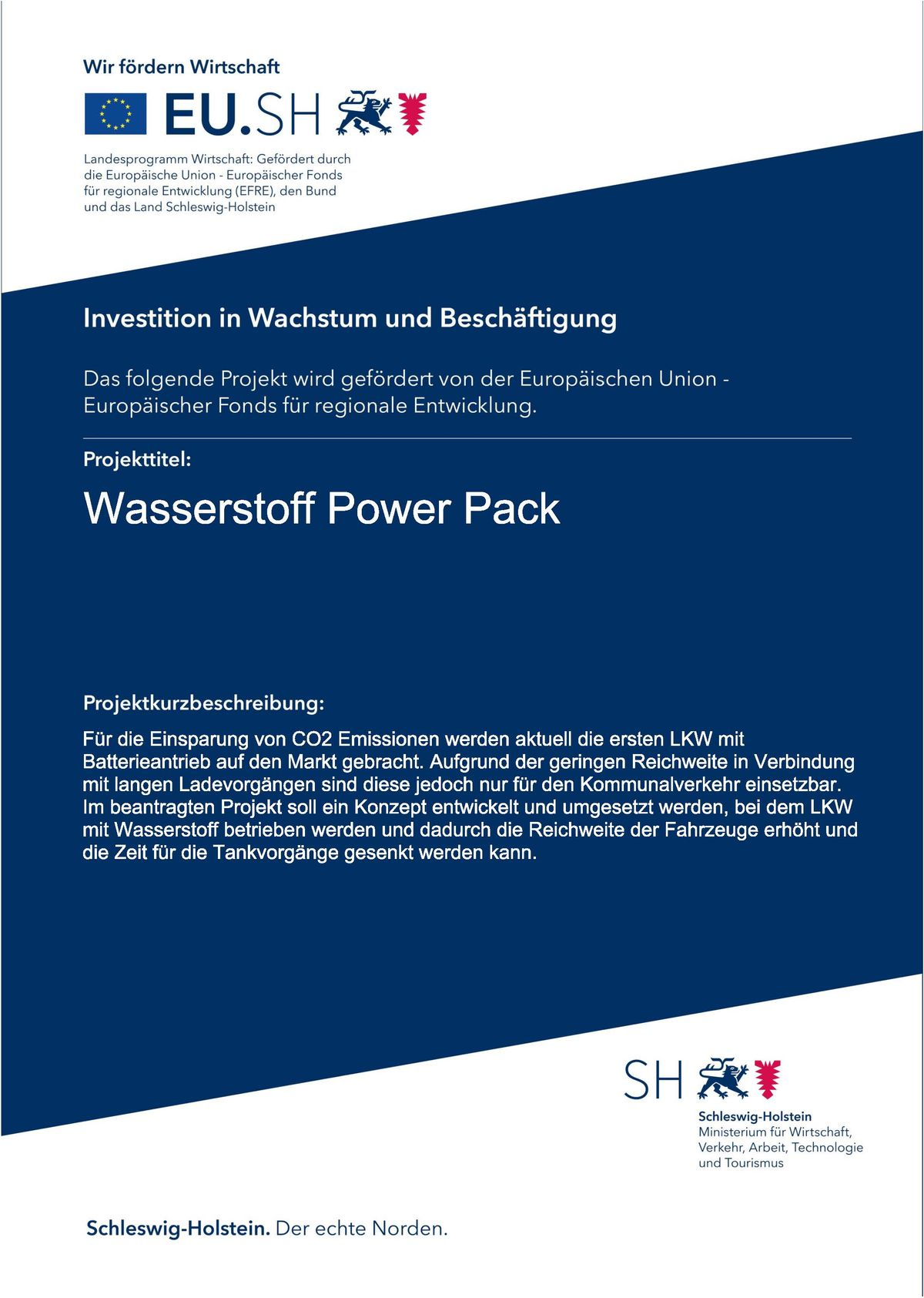 Wasserstoff Power Pack